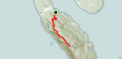 Lummi Peak Trail Map