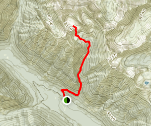 Scatter Lake Trail Map