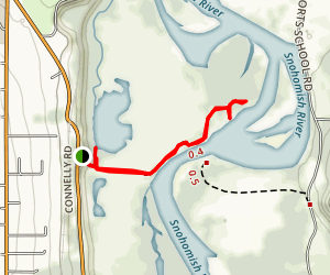 Snohomish River and Shadow Lake Trail Map