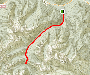 Cedar Creek Trail Map