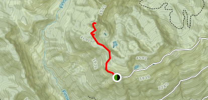 Gee Point Trail Map