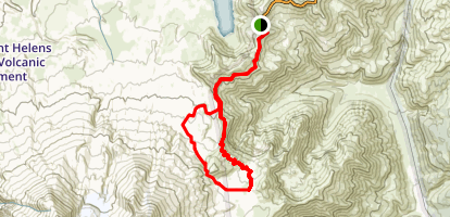 Windy Ridge and Plains of Abraham Loop  Map