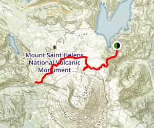 Loowit Falls Trail Map