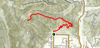 Ski Hill Trail Map
