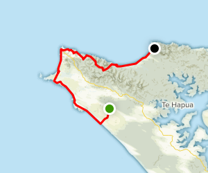 Cape Reinga Walkway Map
