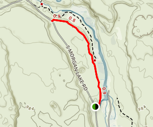 Marsh Interpretive Trail Map