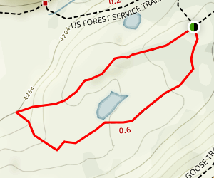 Fire and Ice Trail Map