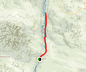 Waikato River Trail (from Arapuni) Map