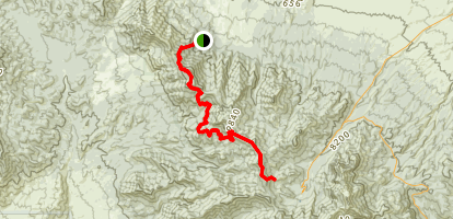 Spring Mountain Divide Trail  Map