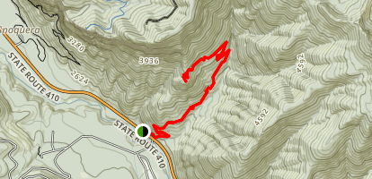 Little Ranger Peak Trail Map