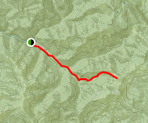 East Fork Trail #139 Map