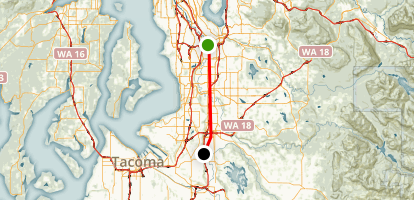 King County Interurban Trail Map