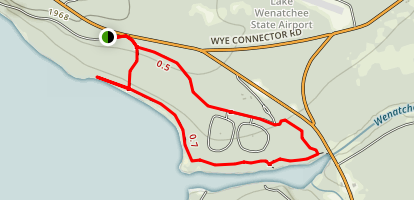Lake Wenatchee Trail Map