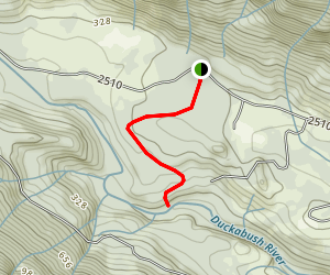 Ranger Hole Trail Map