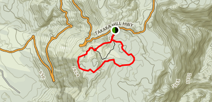 Takaka Hill Loop Map