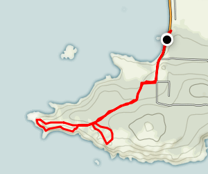 Iceberg Point Trail Map