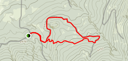 Highlands Sno-Park Area Trails Map