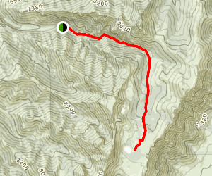 Soldier Lakes Basin Map
