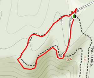 Blueberry Trail Map