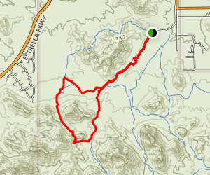 Rainbow Valley South Loop Trail Map