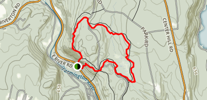 Falls Cutoff, Jessie Girard, Charles Pack, Bowen Loop Trail Map