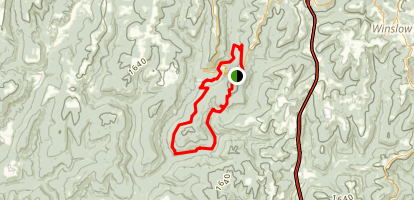 Butterfield Hiking Trail Map