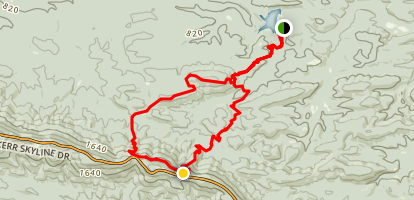 Horse Thief Spring Trail Map