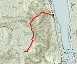 Bald Peak Trail Map
