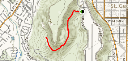 Temple Quarry Trail Map
