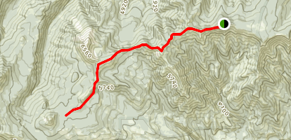 Ironstone Mountain Trail Map