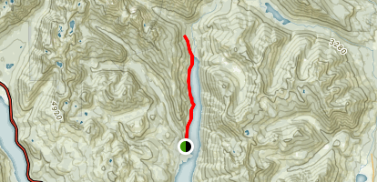 Little Kachess Trail Map