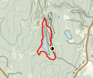 Gibbs Lake Trail Map