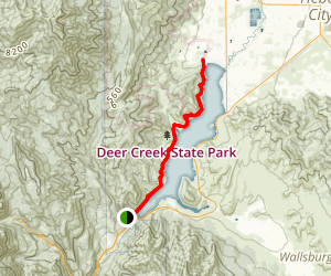 Deer Creek Trail Map