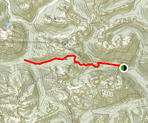 Twisp Pass Trail Map