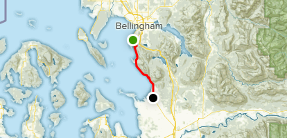 Chuckanut Drive Map