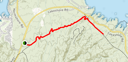 Hamblin Mountain Trail Map