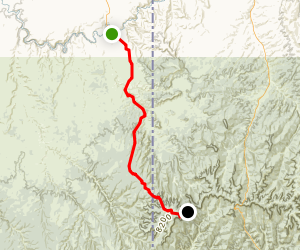 Dragon Ghost Town Trail Map