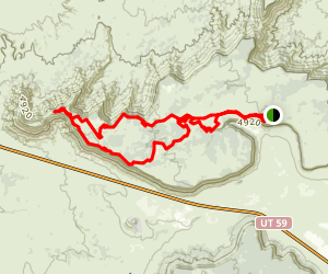 Gooseberry Mesa Trail Map