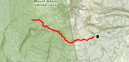 Round the Mountain Trail Map