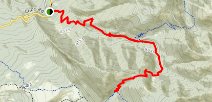 Miners Basin Trail Map