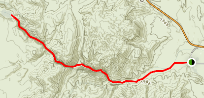Arrow Canyon Map