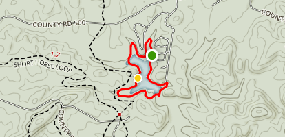 Coleman Lake Loop Map