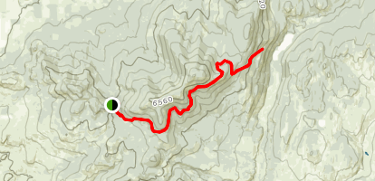 Lightning and Duff Springs via South Side Trail Map