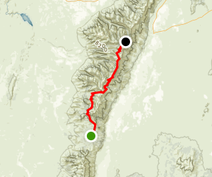 Ruby Crest Trail Map
