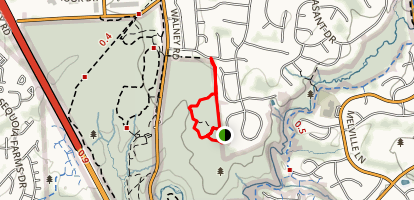 E. C. Lawrence Woodland Trail Map