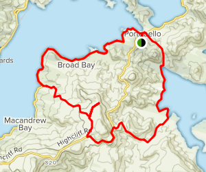 Otago Peninsula Loop Map