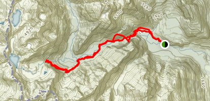 Routeburn Track Daytrip Map