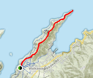 Picton Snout Track Map