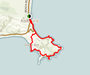 Kaikoura Peninsula Loop Map