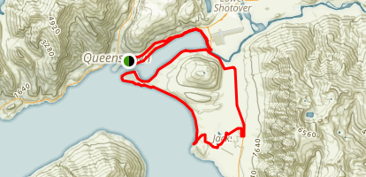 Queenstown Loop to Jacks Point Map